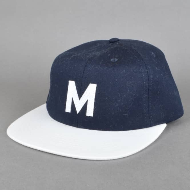 Magenta Skateboards M Strapback Cap - Blue/White