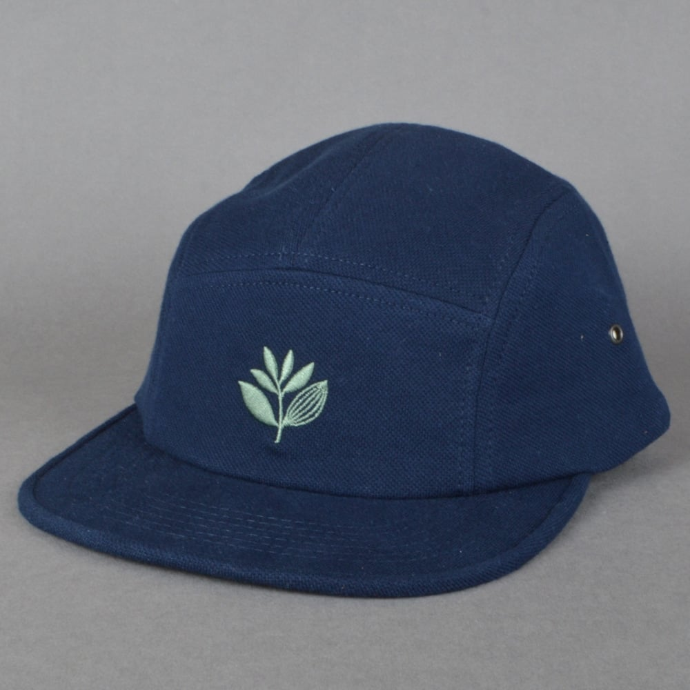 13a6726c Magenta Skateboards Plant 5 Panel Cap - Navy - SKATE CLOTHING from ...