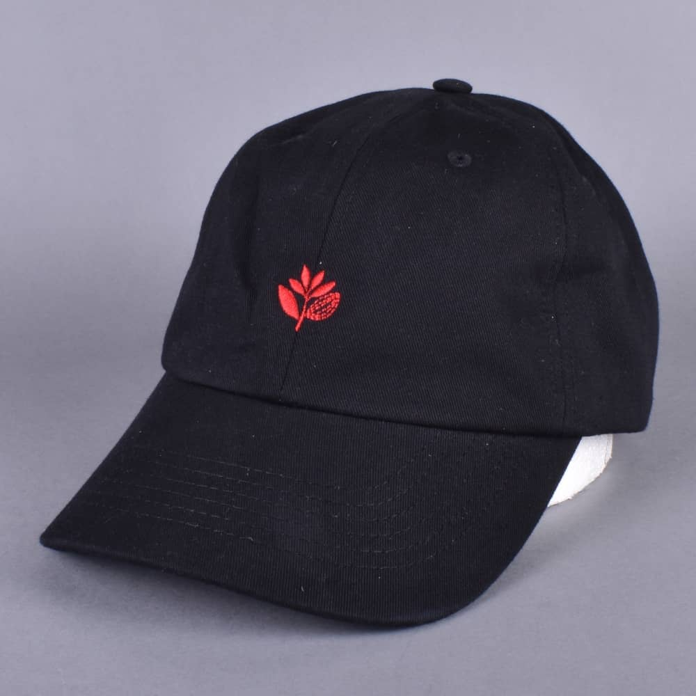 Magenta Skateboards Plant Dad Cap - Black Red - SKATE CLOTHING from ... 6bbed998dad