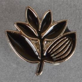 Plant Label Pin Badge