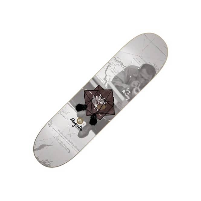Magenta Skateboards Soy Panday Mind Connect Skateboard Deck 8.25''