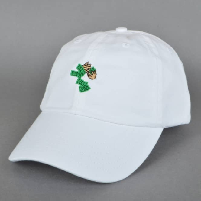 40s And Shorties Make It Rain Dad Cap - White