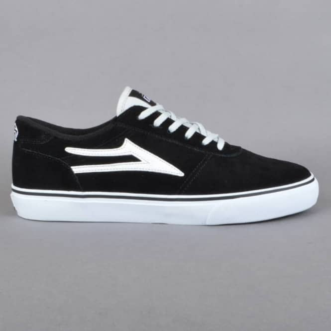Lakai Manchester Skate Shoes - Black Suede