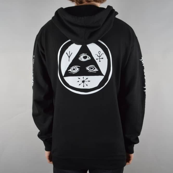 Welcome Skateboards Mantra Mid-Weight Pullover Hoodie - Black