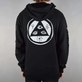 Mantra Mid-Weight Pullover Hoodie - Black