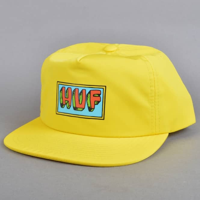 HUF Mar Vista Snapback Cap - Yellow