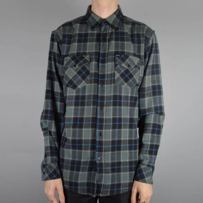 Matix Clothing Cassius Flannel Shirt - Black