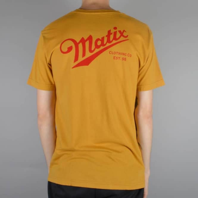 Matix Clothing Delivery T-Shirt - Gold