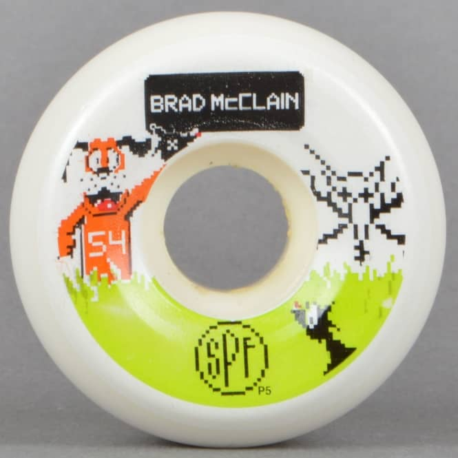 Bones Wheels McClain Duck Hunt SPF P5 Skateboard Wheels 54mm