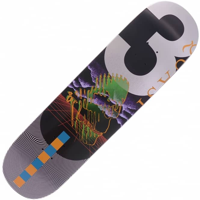 Quasi Skateboards Memory Green Skateboard Deck 8.5