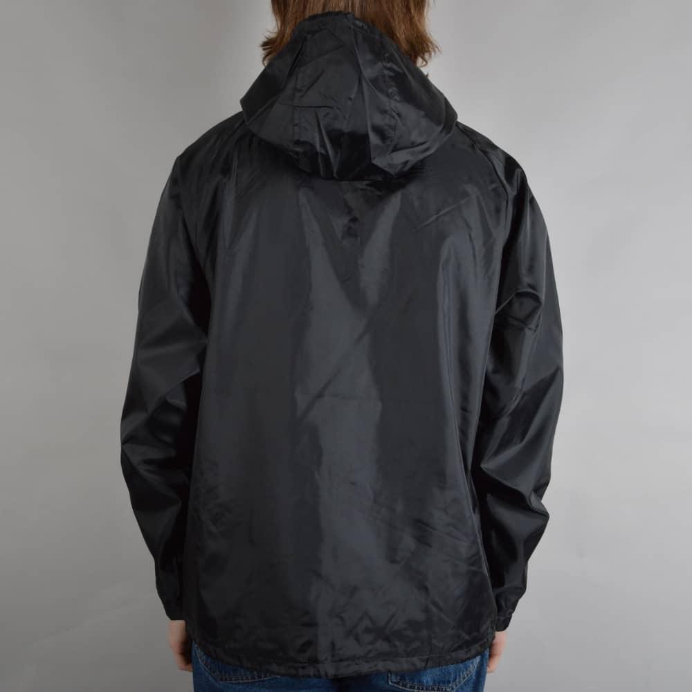 07b24082d Merced Hooded Windbreaker Jacket - Black