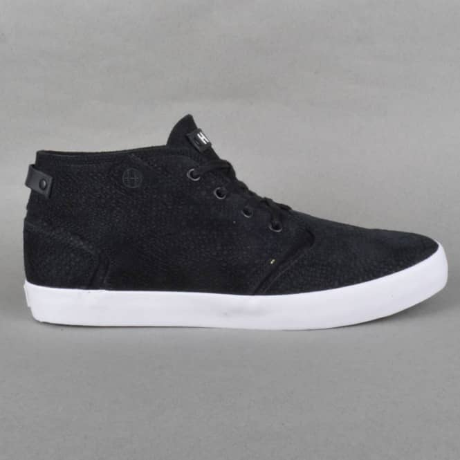 HUF Mercer Skate Shoes - Black/Snake
