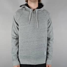 Meridian Bonded Quarter Zip Hood - Grey Heather
