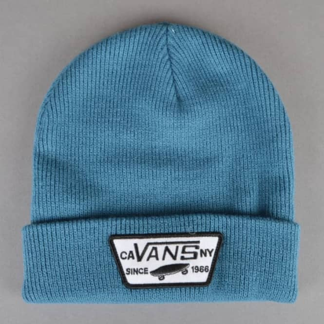 c8a90920 Vans Milford Beanie - Blue Ashes - SKATE CLOTHING from Native Skate ...