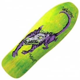 Miller Beast On Sugarcane (Yellow Stain) Skateboard Deck 10.0