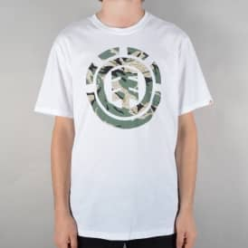 Mimic Skate T-Shirt - Optic White