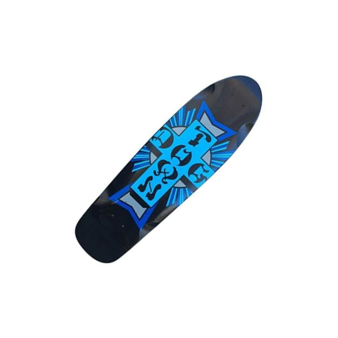 Dogtown Skateboards Mini Cross Logo Cruiser Skateboard Deck 7.625