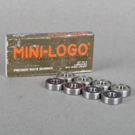 Bones Wheels Mini-Logo Skateboard Bearings