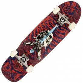 Mini Skull + Sword Cruiser Skateboard - 8.0
