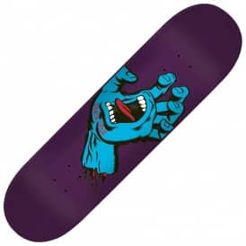 Minimal Hand EightThree (Purple Stain) Skateboard Deck 8.375