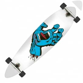 Minimal Hand White/Blue Complete Pintail Cruzer - 9.58