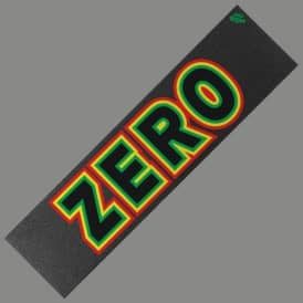 "Mob Grip x Zero Skateboards Rasta Bold Griptape - 9"" x 33"" Sheet"