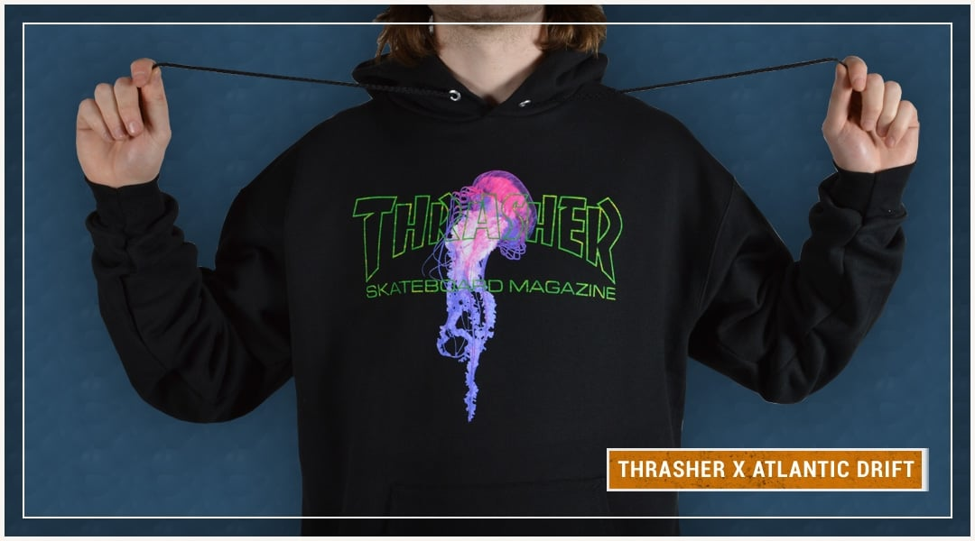 Thrasher x Atlantic Drift