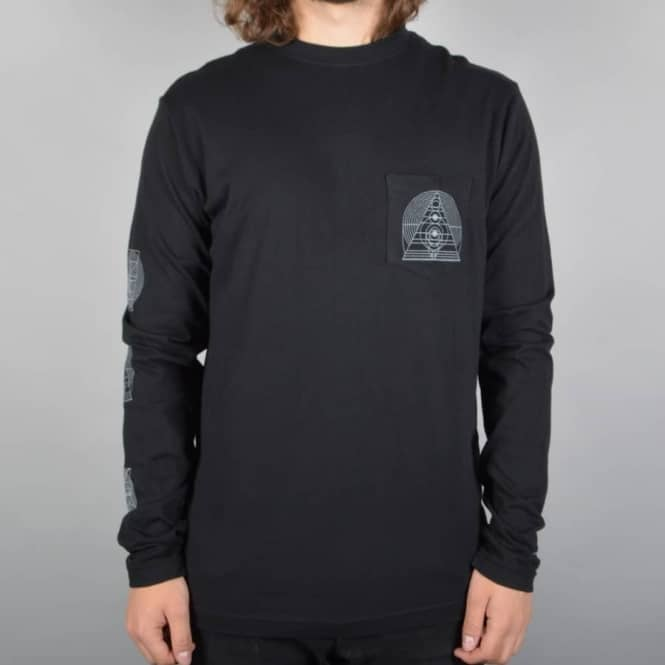 Altamont Mogwai Music Industry Long Sleeve T-Shirt - Black