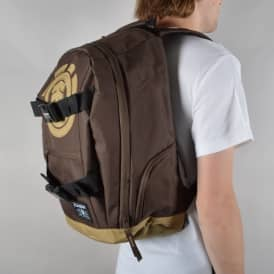 Mohave Skate Backpack - Coffee Brown