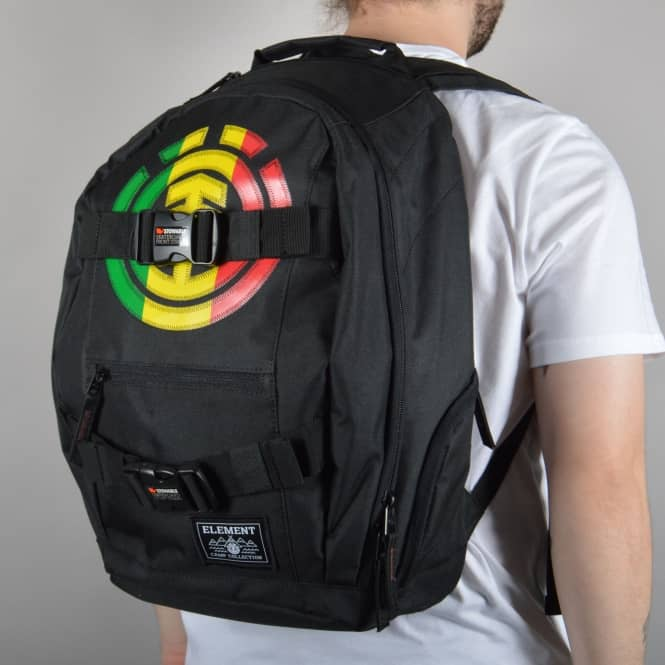 Element Skateboards Mohave Skate Backpack - Multi Coloured