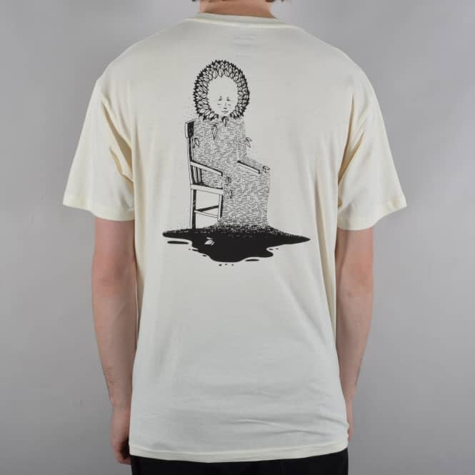 Welcome Skateboards Morphine Skate T-Shirt - Vintage White