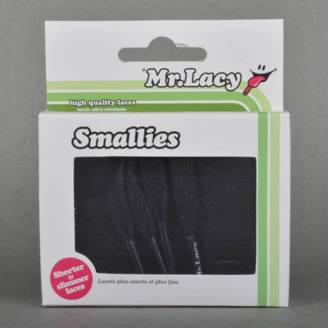 Mr Lacy Smallies Replacement Shoe Laces - Black