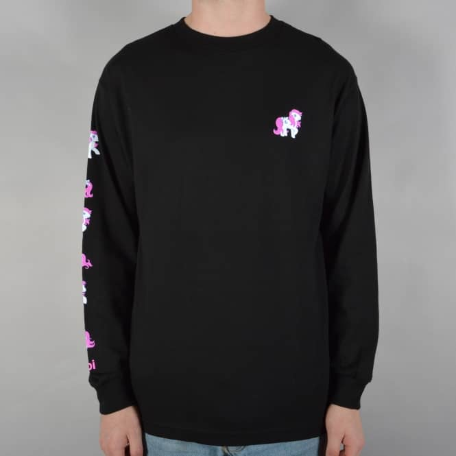 Enjoi Skateboards My Little Pony Longsleeve T-Shirt - Black