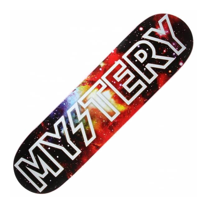 Mystery Skateboards Mystery Space Logo Skateboard Deck 8 ... Mystery Skateboards Logo