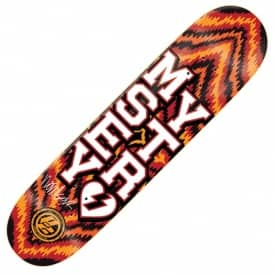 Mystery Skateboards Mystery Windsor James Varsity Sludge P2 Skateboard Deck 8.0''