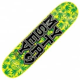 Mystery Windsor James Varsity Weed P2 Skateboard Deck 7.875
