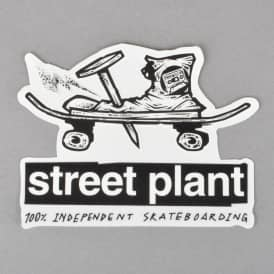 Nail And Boot Skateboard Sticker - 4