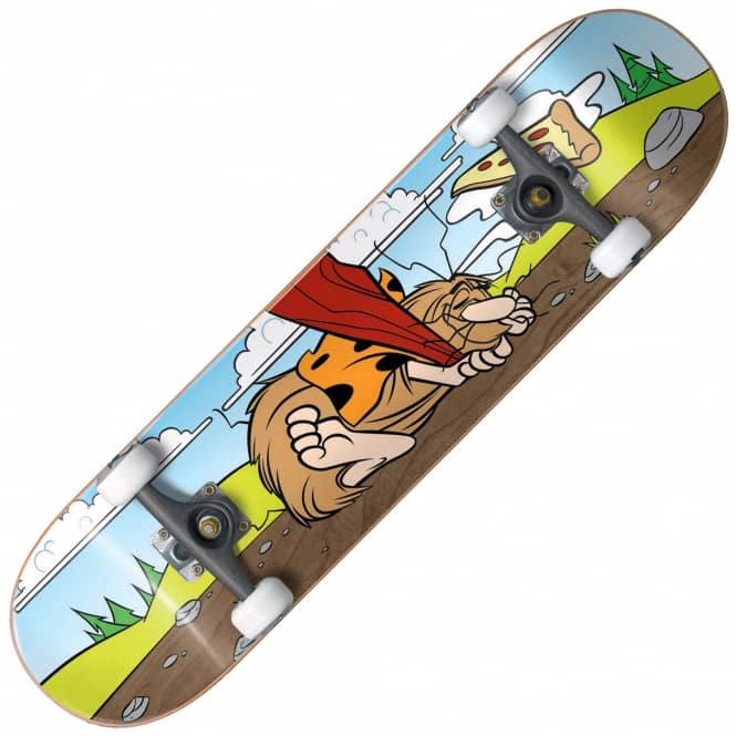 Almost Skateboards Napping Caveman Youth Mid Sized Premium Complete Skateboard 7.375