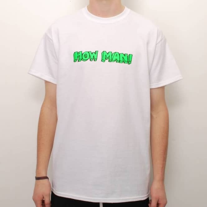 Native Native How Man Skate T-Shirt - White