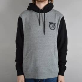 Native Pullover Hoodie - Heather Grey/Black