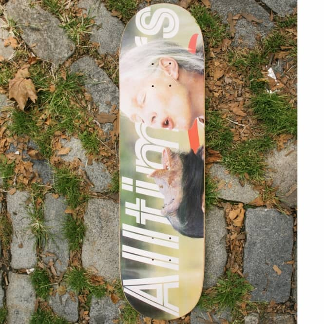Alltimers Nature Goodall Skateboard Deck 8.1