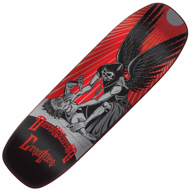 Creature Skateboards Navarrette Angel Of Death Custom Skateboard Deck 8.8''