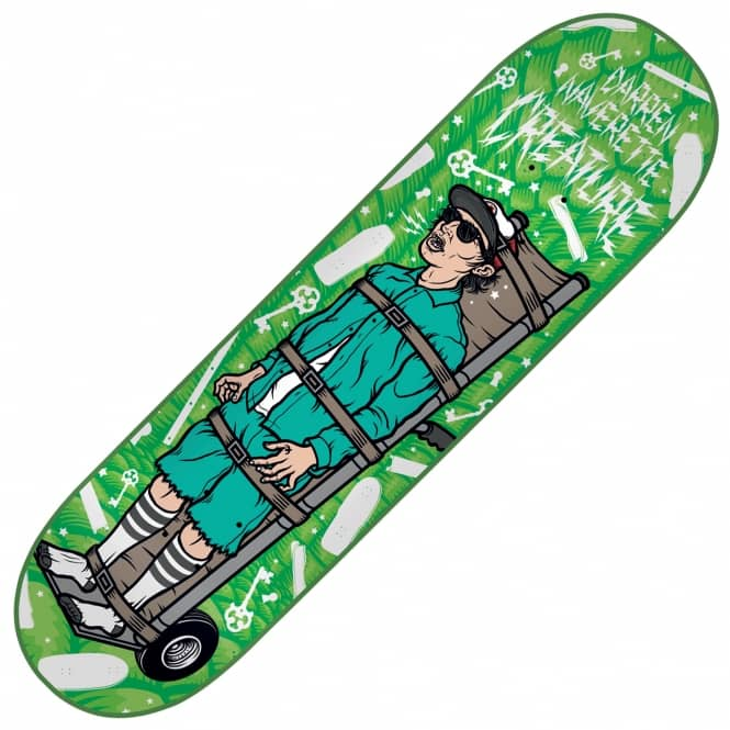 Creature Skateboards Navarrette Psych Ward Skateboard Deck 8.8