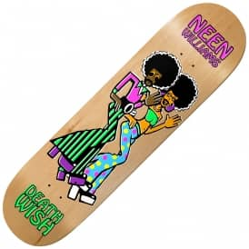Neen Williams Smooth Groovin Skateboard Deck 8.0