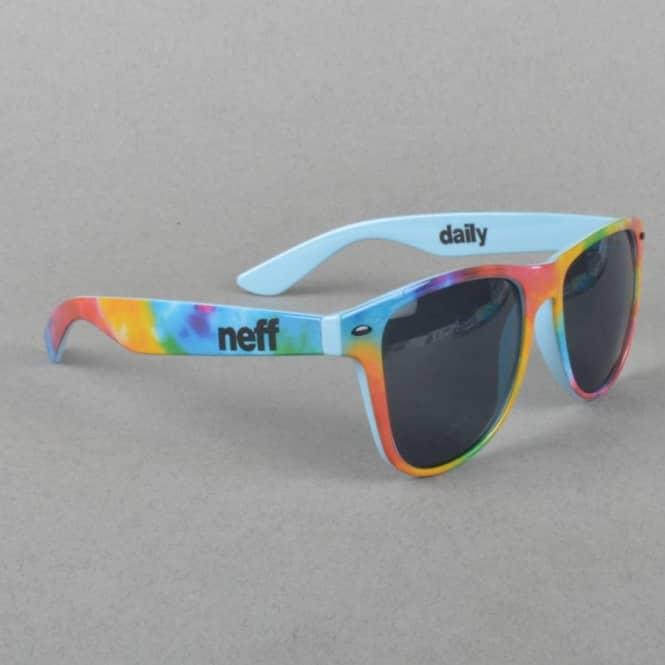 692c2d50f8b Neff Headwear Daily Sunglasses - Tie-Dye Sky - ACCESSORIES from ...
