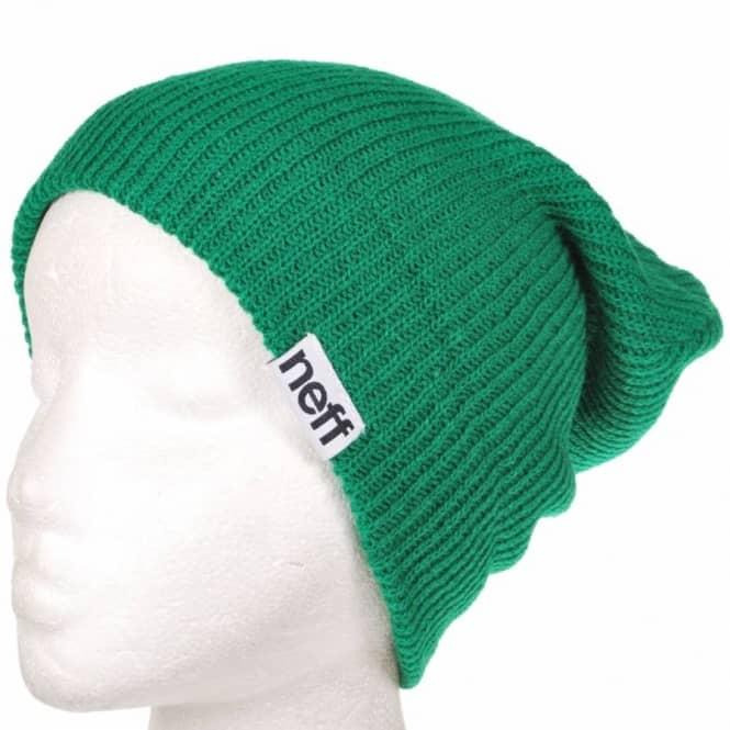 Neff Headwear Neff Fold Beanie - Green - Beanies from Native Skate ... d17d619be29