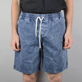 Nermal Leaf Volley Shorts - Navy