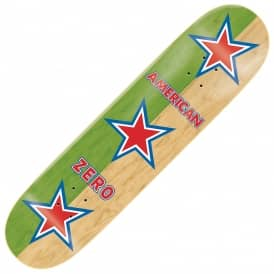 Zero Skateboards New American Zero Green/Natural Skateboard Deck 8.375''