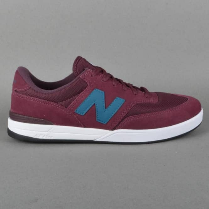New Balance Numeric Allston 617 Skate Shoes - Burgundy/Blue