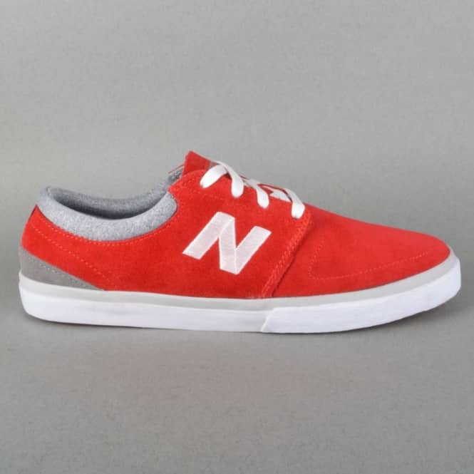 d1f2554421 Brighton 344 Skate Shoes - Red/Grey